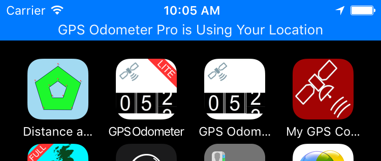 GPS Odometer for iOS
